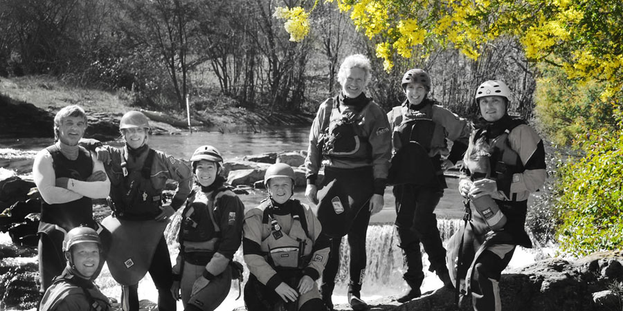 Our first club paddle on the Buckland River
