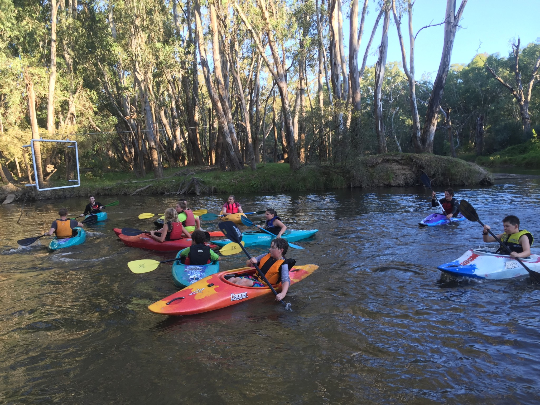 Feb 2016 - Come and Try Night Canoe Polo - Wangaratta